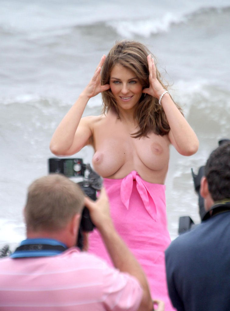 Elizabeth Hurley Nude Fakes - 019